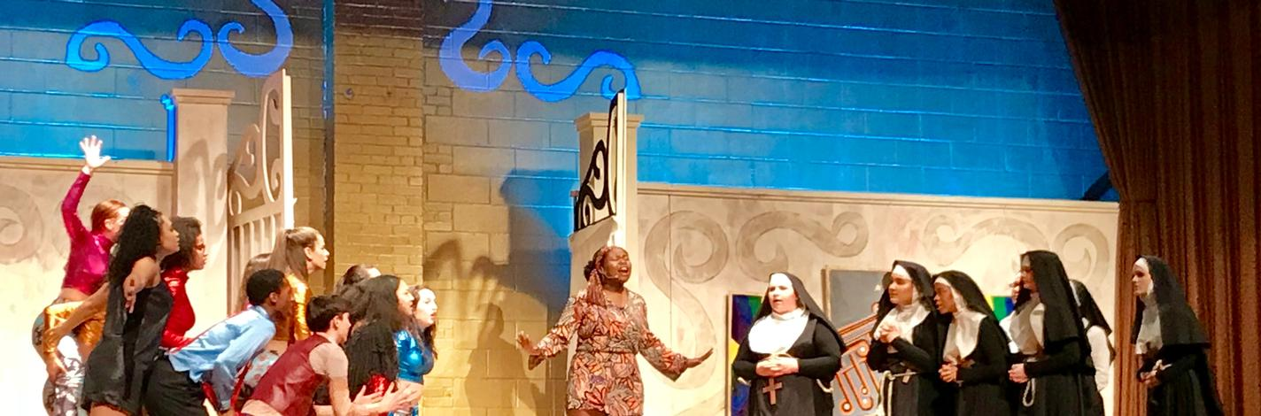 Preston Players Sister Act 2017-2018
